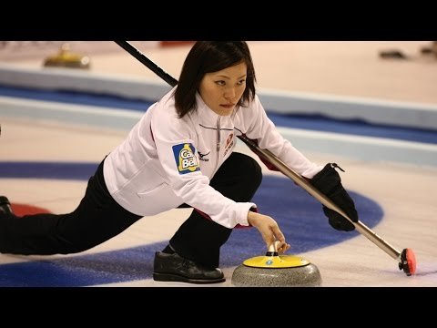 CURLING: CHN-JPN Pacific-Asia Curling Chps 2014 - Women