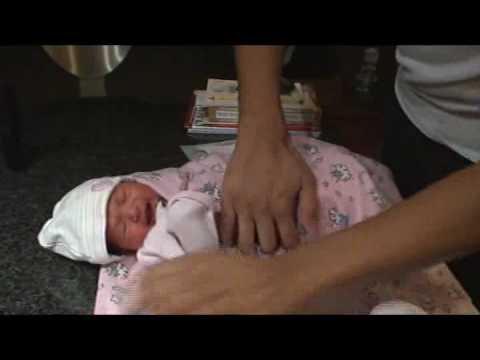 March 11th, 2009 - Baby Girl Diaper Change video