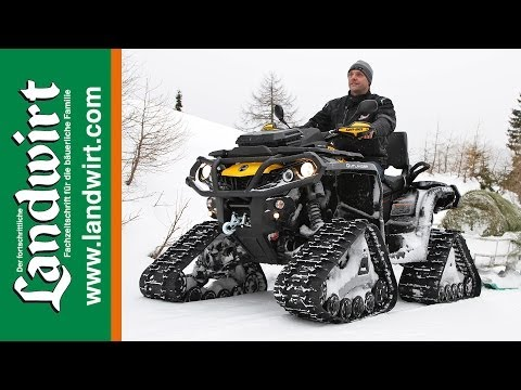 Can-am Outlander 1000 mit Apache Tracks