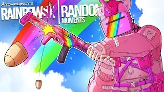 Rainbow Six Siege - Random Moments: #46 (How 2 Nomad,Calculated Grenade)
