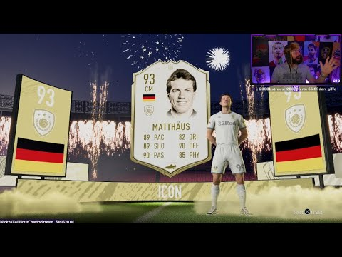 OMG I PACK PRIME 93 MATTHAUS and RONALDO BACK TO BACK!! - FIFA 20 Ultimate Team