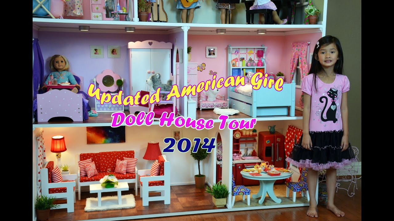 Huge American Girl Doll House Tour 2014 Youtube