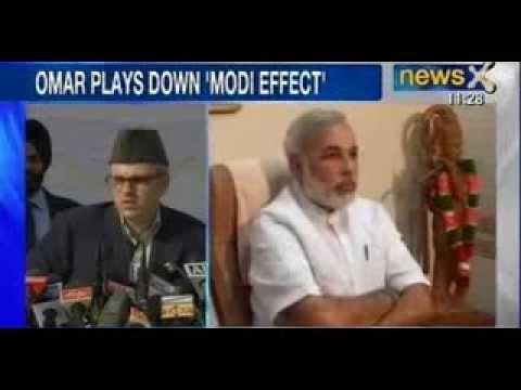 'Narendra Modi wave an exaggeration', says Omar Abdullah - NewsX