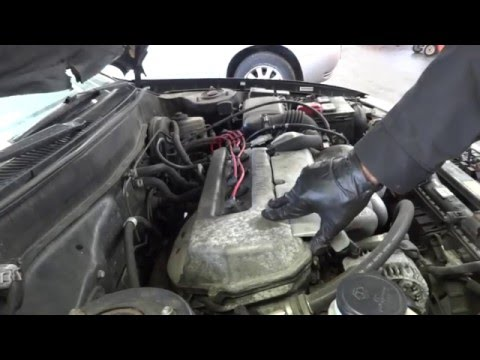 98 Toyota Corolla Check engine light - tune up and valve cover gasket