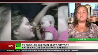 Texas toddler killed after being taken by CPS
