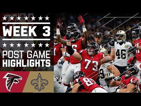 Falcons Vs Saints Nfl Week 3 Game Highlights