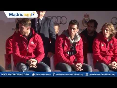 Real Madrid Players Receive New Audies for 2014