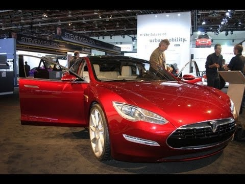 2014 Tesla Model S - Interior & Exterior - The Driver