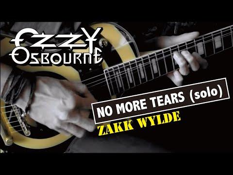 Ozzy Osbourne /  Zakk Wylde - No More Tears (Solo)  :by Gaku