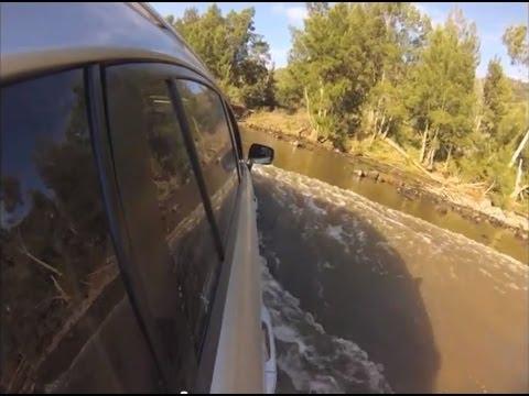 Subaru XV offroad at River Island 4WD Park