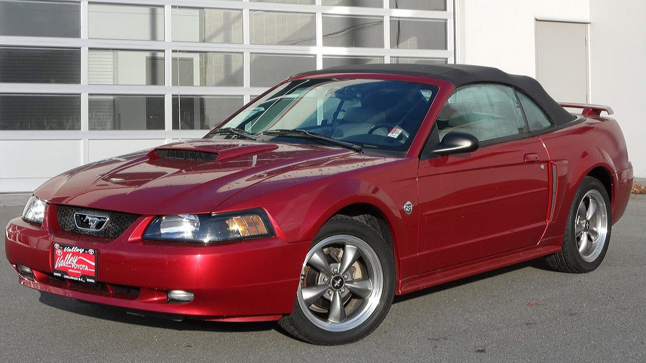 Sold 2004 Ford Mustang Gt Convertible Preview At Valley