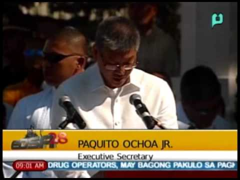 [Part 6/] EDSA 28 - Talumpati ni Exec. Sec. Paquito Ochoa Jr.; People Power Rev. Anniv. [02/25/14]
