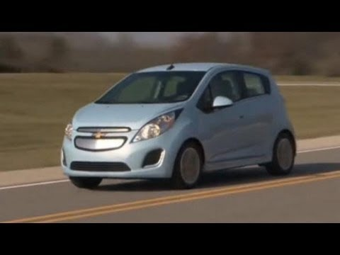 2014 Chevy Spark EV Test Drive & Electric Car Video Review