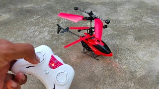 RC Helicopter Unboxing Remote Control