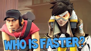 Who Is Faster - Tracer or The Scout?