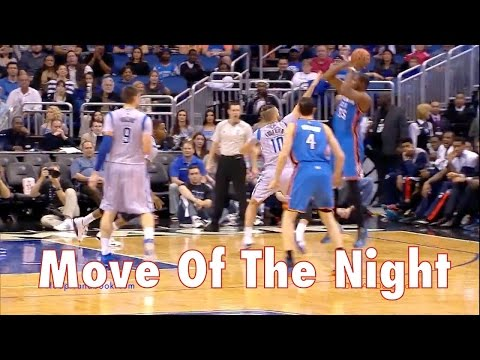Kevin Durant's Behind-Snatchback Crossover Jumper: Move-Of-The-Night #88 | Dre Baldwin