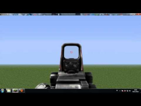 Minecraft Flan's Mod  Muuuuchas armas y vehiculos de combate + otros mods