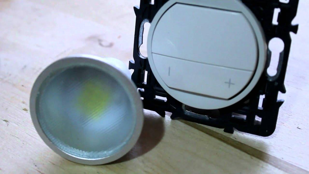 ampoule à led pour variateur  YouTube