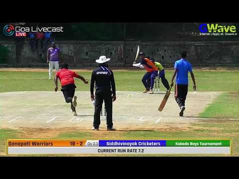 Chatrapati Chashak 2019 | Day 2 Session 2 Kakoda Boys | All Goa Tennis Ball Cricket Tournament