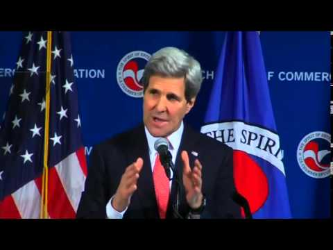 Secretary Kerry Delivers Remarks at the Middle East Commercial Center Leadership Dinner