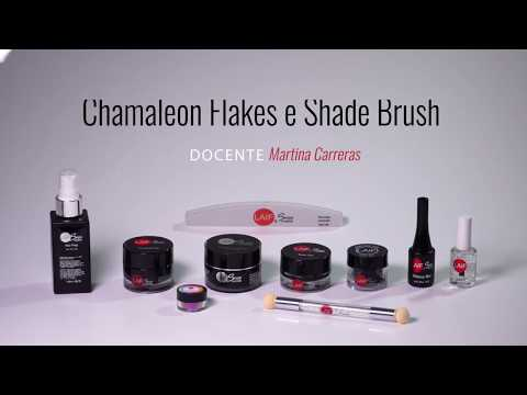 LAIF Nail - Chamaleon Flakes e Shade Brush