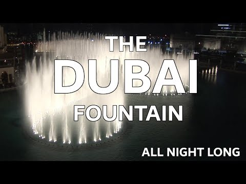 The Dubai Fountain: All Night Long - Shot/Edited with 5 HD Cameras - 3 of 9 (HIGH QUALITY!)