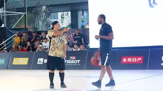 Kawhi Leonard Takes over the NBA's 5v5 Event In Beijing