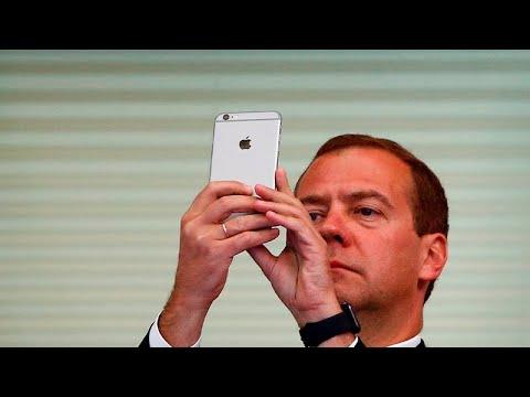 Огурцы Дмитрия Медведева в Instagram