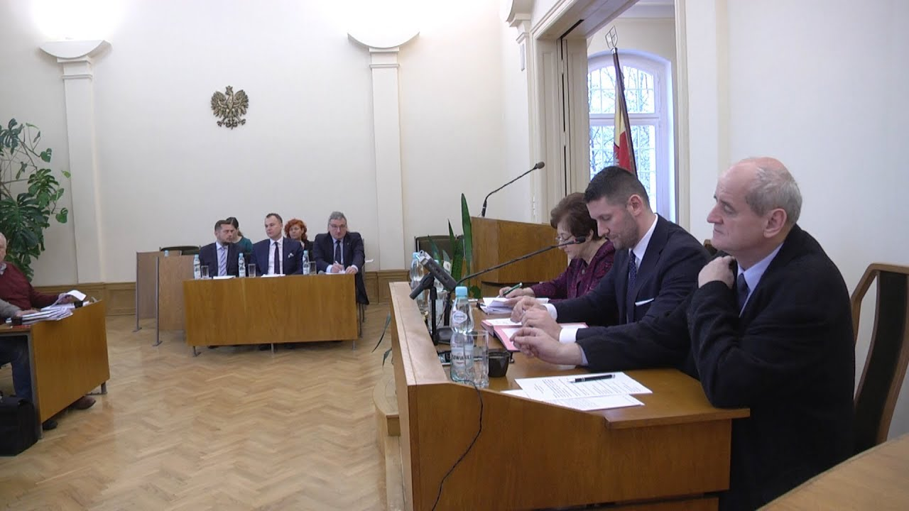 XLVII sesja Rady Miejskiej, część I