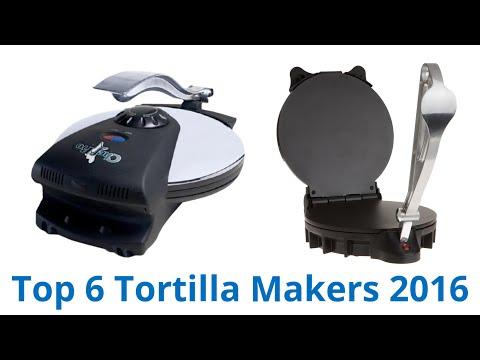 6 Best Tortilla Makers 2016