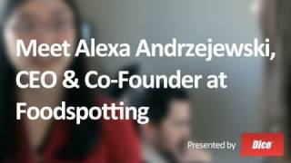 Meet Alexa Andrzjewski, Co-founder & CEO of Foodspotting - Best Job Ever with Veronica Belmont