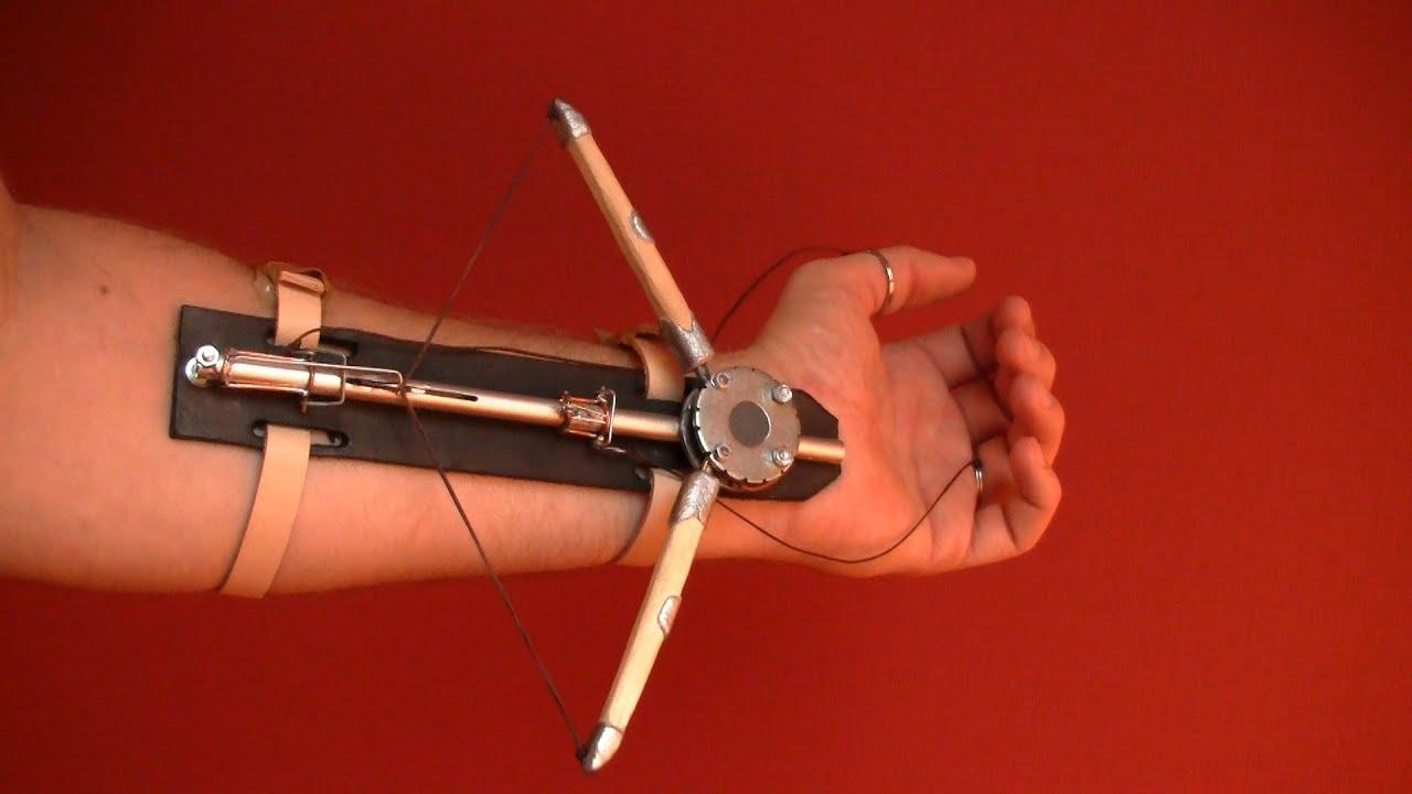 Как сделать клинок и арбалет