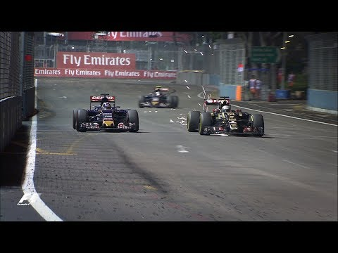 Max Verstappen's Classic Charge | 2015 Singapore Grand Prix