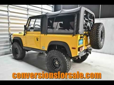 1994 Land Rover Defender 90 4x4 Lifted Youtube