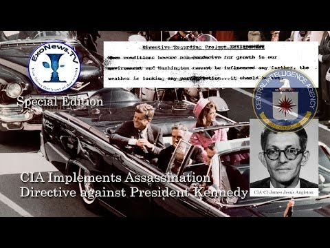 50 years ago CIA implemented assassination directive against President Kennedy (SE04)