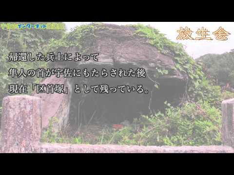 宇佐八幡宮成立 奈良時代 放生会 つつうらうら