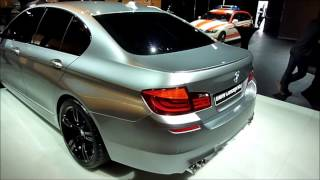 BMW Concept M5 F10 in Garching, 1  April 201