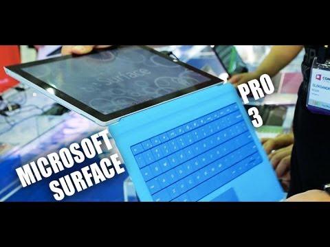 Microsoft Surface Pro 3 - первый взгляд на планшетобук