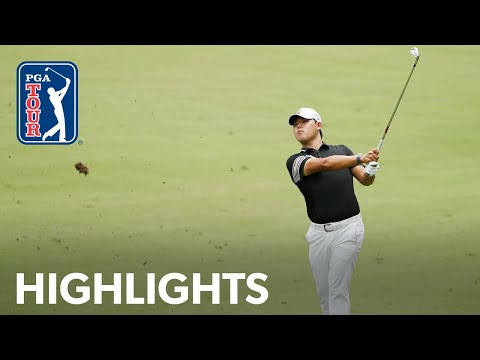 Si Woo Kim shoots 8-under 62   Round 3   Wyndham Championship