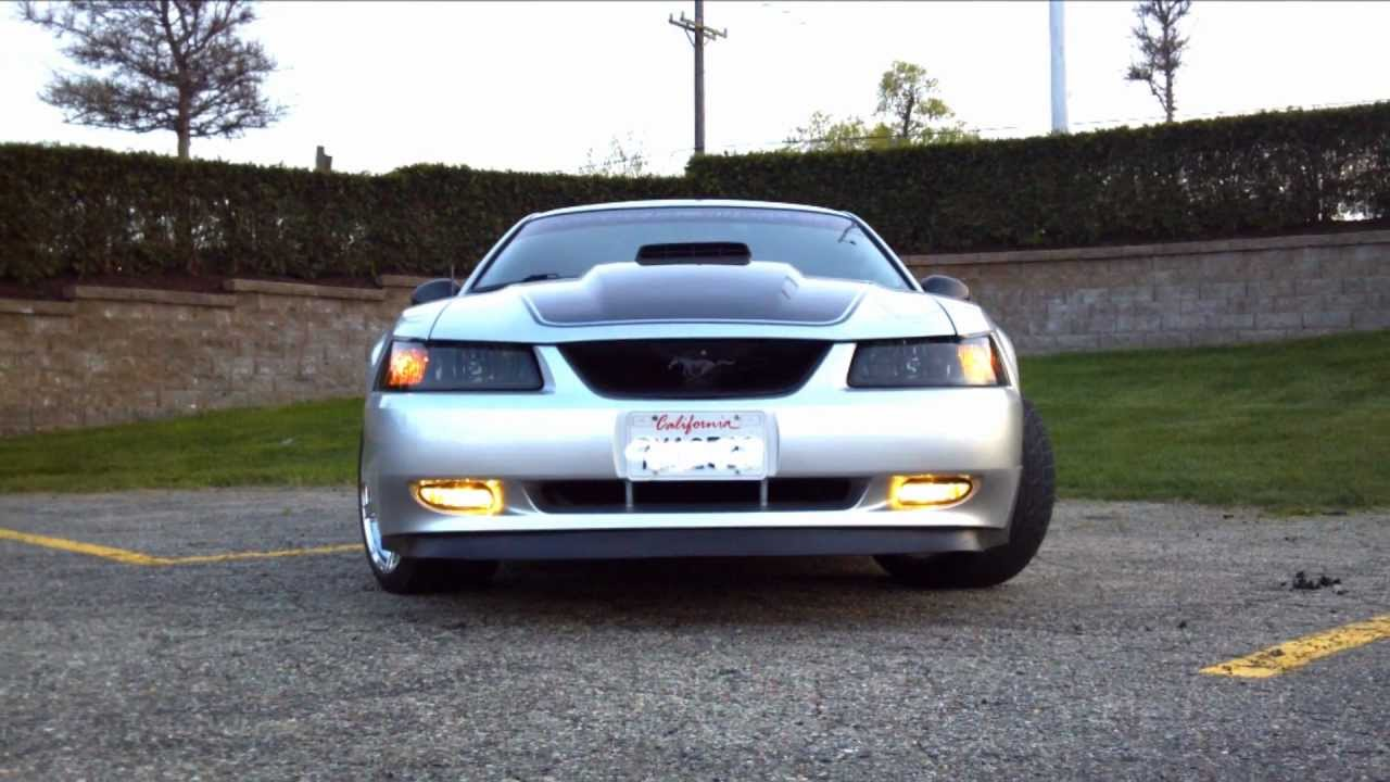 1999 Mustang Gt Mach 1 Clone Body Transformation Youtube