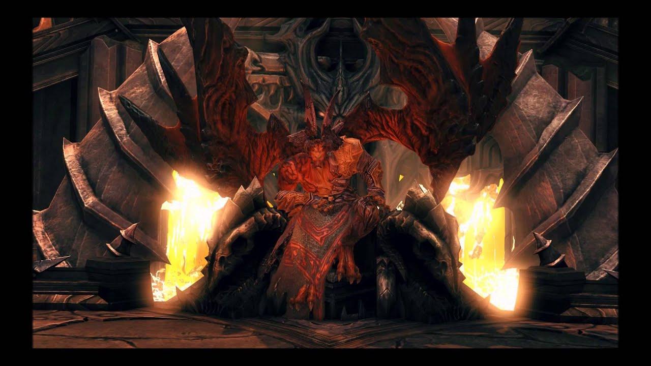 Darksiders 2: Death Vs. Samael (Apocalyptic) - YouTube
