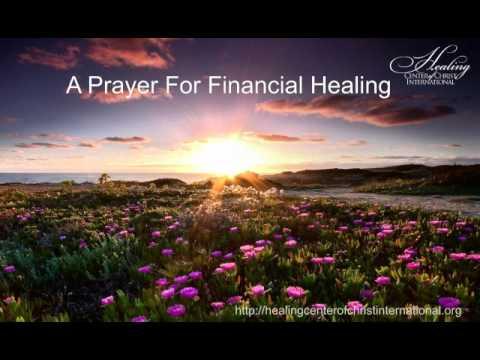 Financial Healing Prayer