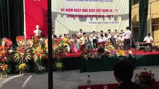 Chung Một Niềm Tin- hoà tấu nhạc cụ Dân tộc trường CĐ VHNT Thái Bình