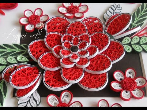 Quilling Tutorial Beehive Flower Youtube