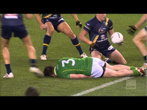 International Rules 2011 1st Test