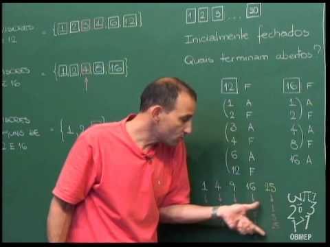Aritmética - Aula 9 - Divisores e MDC - Algoritmo de Euclides
