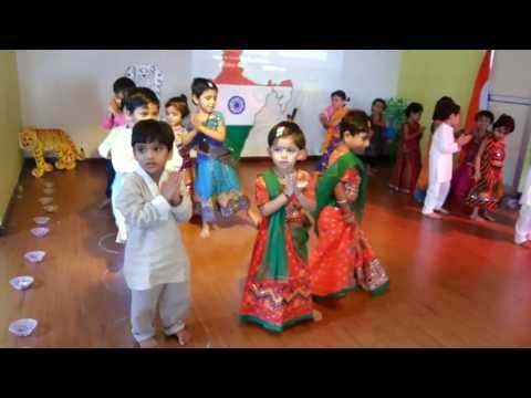 Angel Kids Preschool Pre Independence Day Celebratation - Desh...