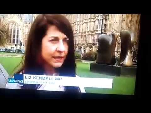 ITV News -  Leic Sikh Alliance & Liz Kendall MP at Parliament for Golden Temple Attack