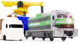 PowerTrains 48627 Crane City + Train & Truck