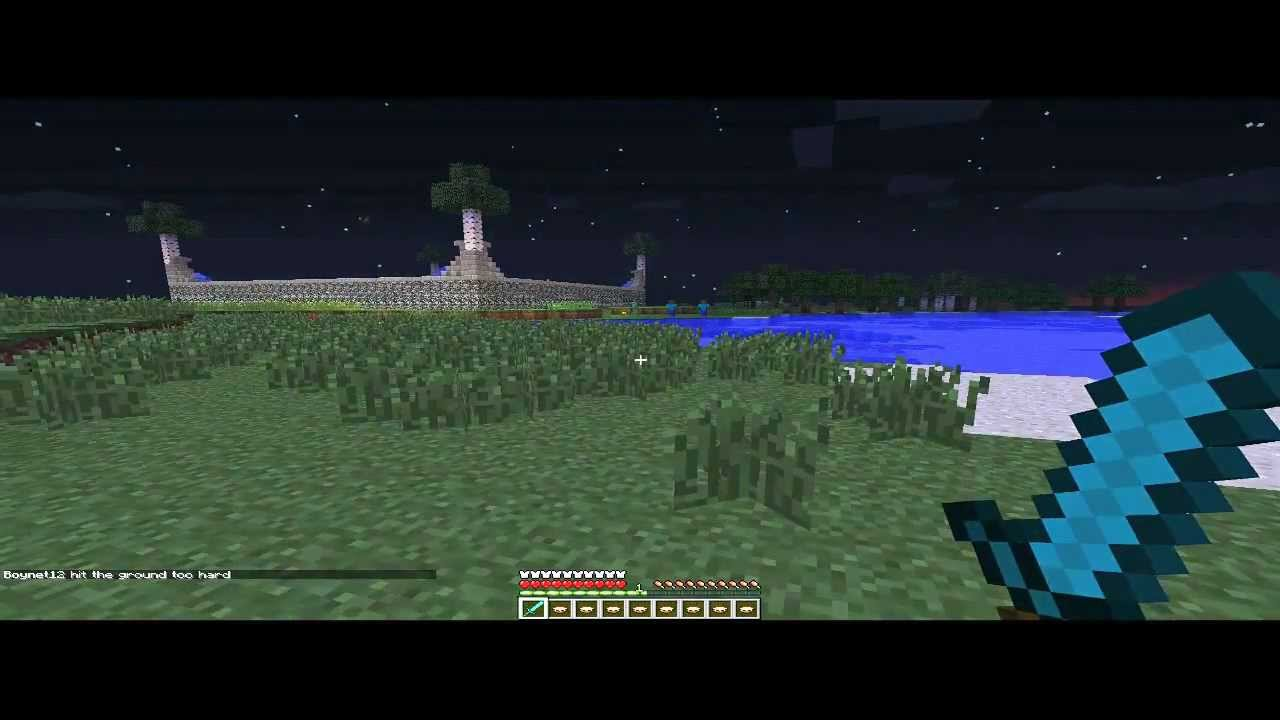 Minecraft PvP Tips Part 1 How To Blockhit Set Up
